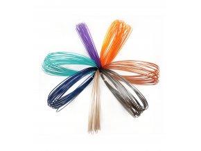 PLA vzorník z recyklátu 7 barev 1,75mm EKO-MB nové barvy