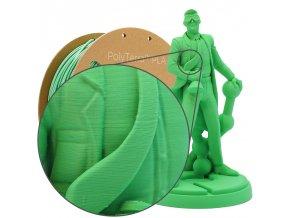 PLA PolyTerra filament Forest Green 2,85mm Polymaker 1000 g