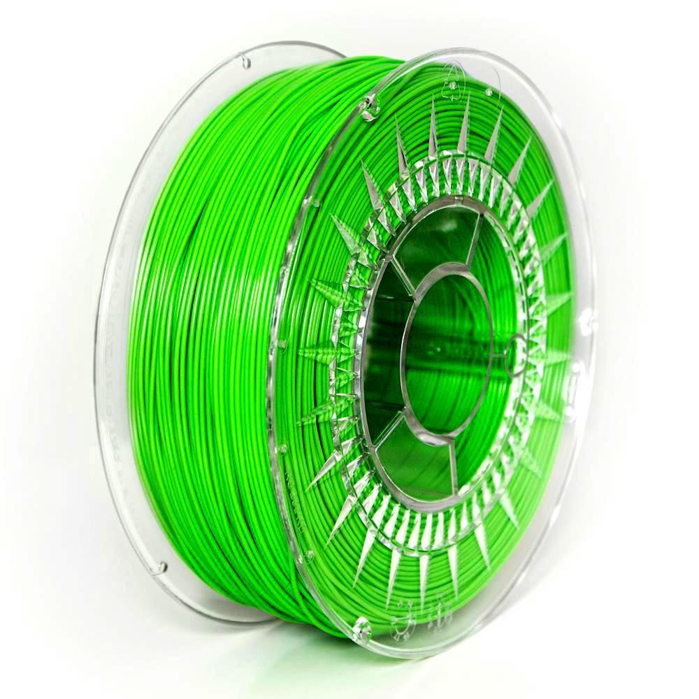 PETG filament Devil Design zelená (bright green) 1,75 mm 1 kg
