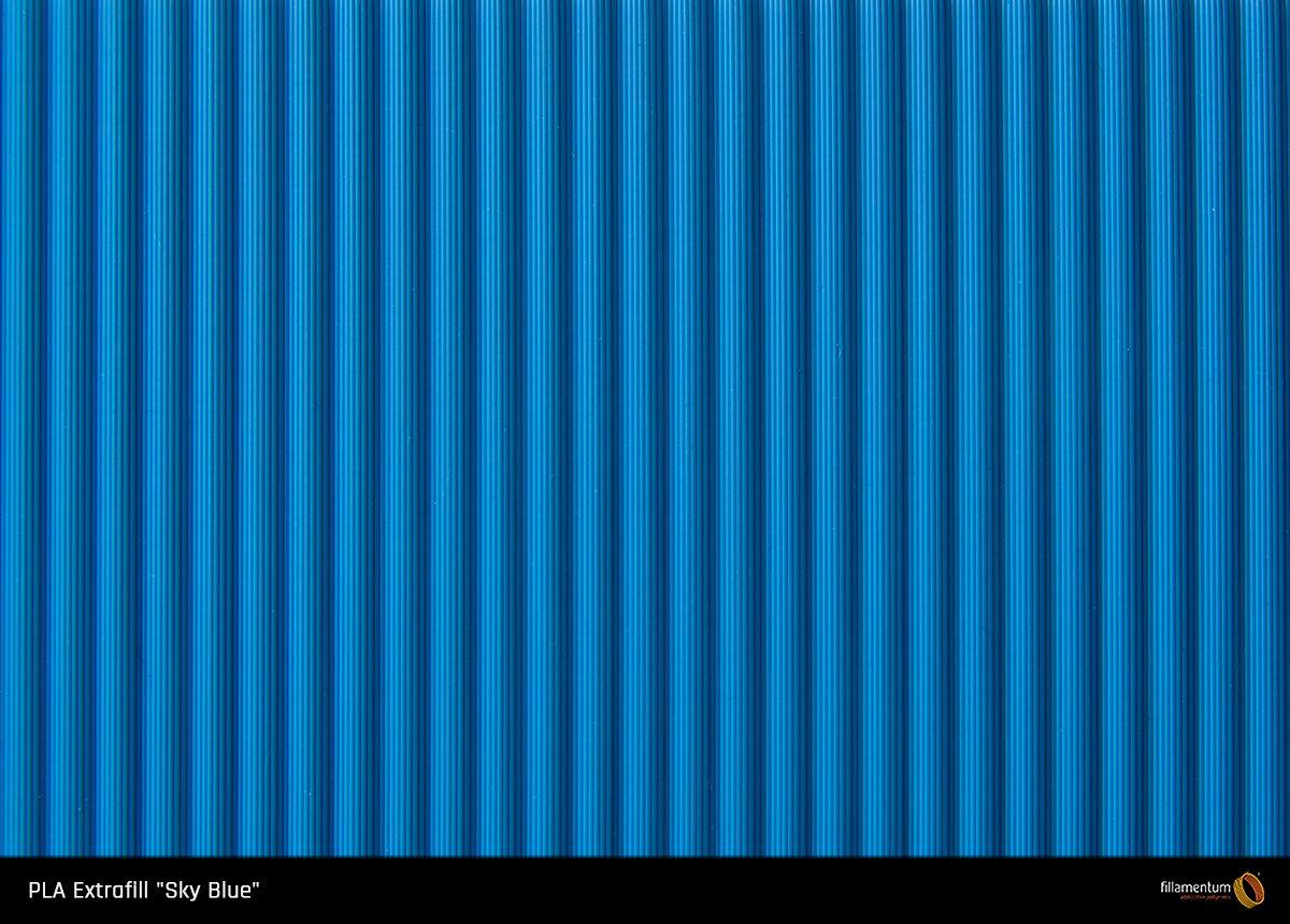 PLA filament Fillamentum Extrafill Sky Blue 1,75 mm 750 g