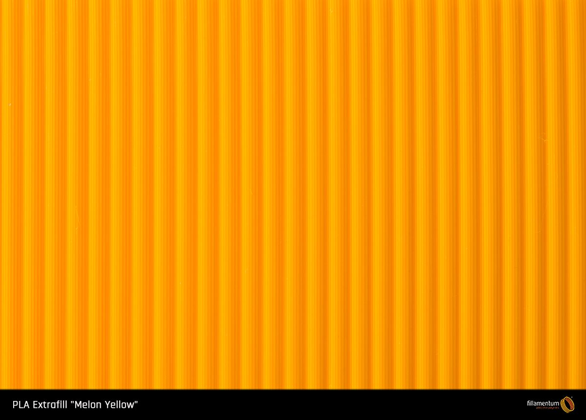 PLA filament Fillamentum Extrafill Melon Yellow 1,75 mm 750 g