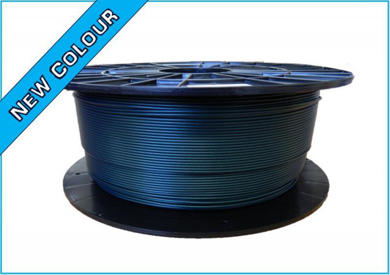 PLA filament Filament-PM zelená metalická 1,75 mm 1 kg