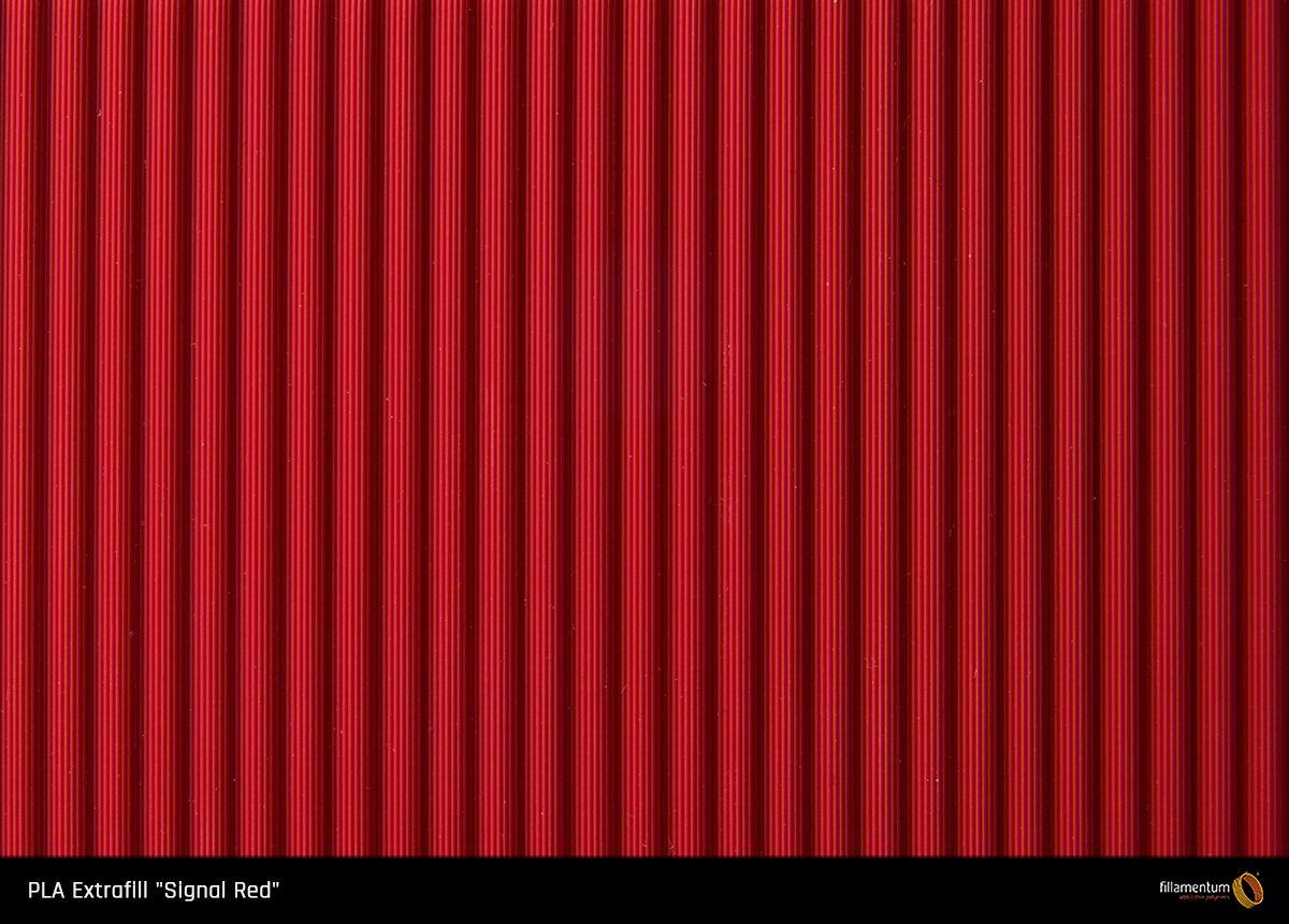 PLA filament Fillamentum Extrafill signální červená 1,75 mm 750 g