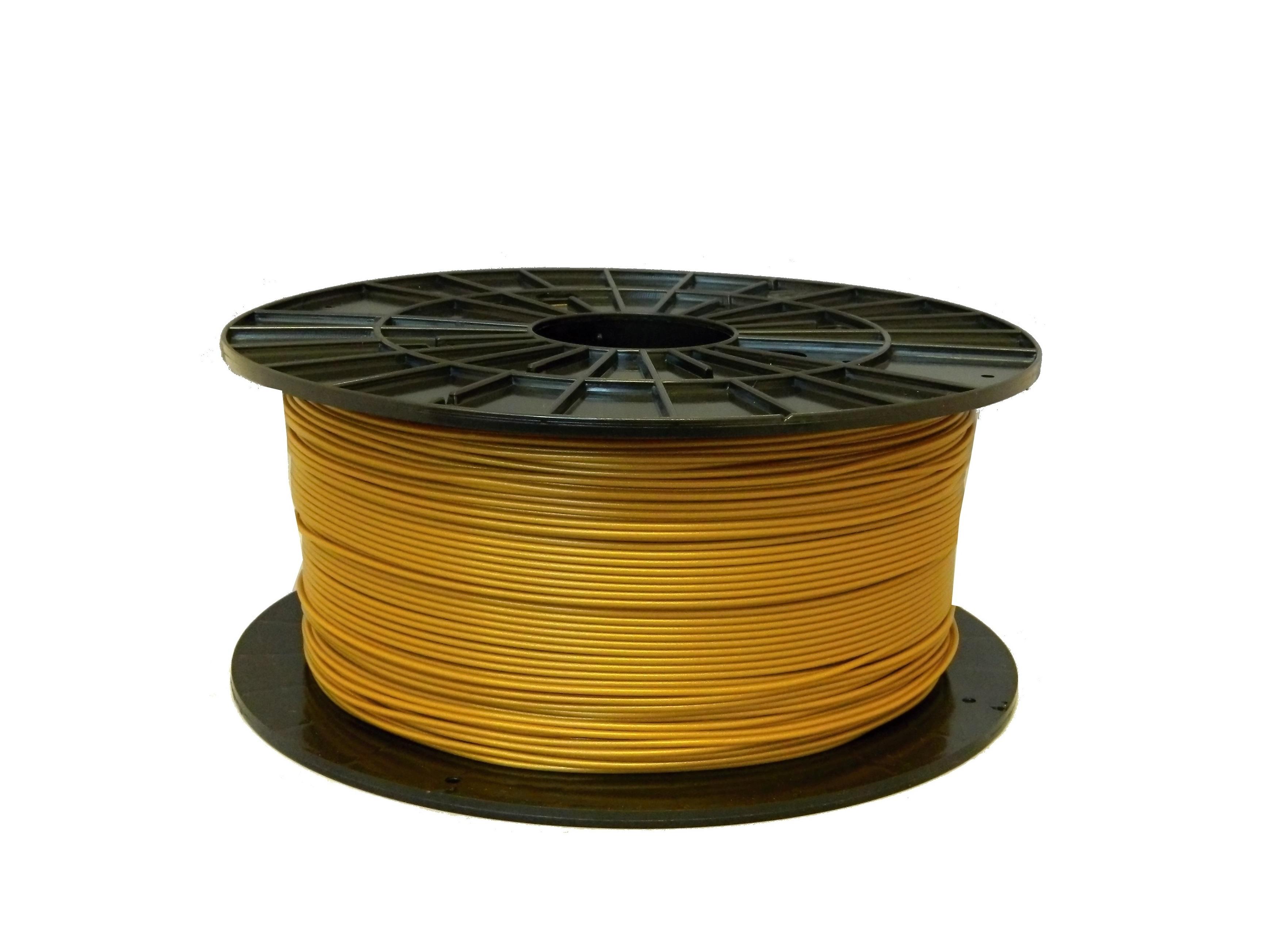 PLA filament Filament-PM zlatá 1,75 mm 1 kg