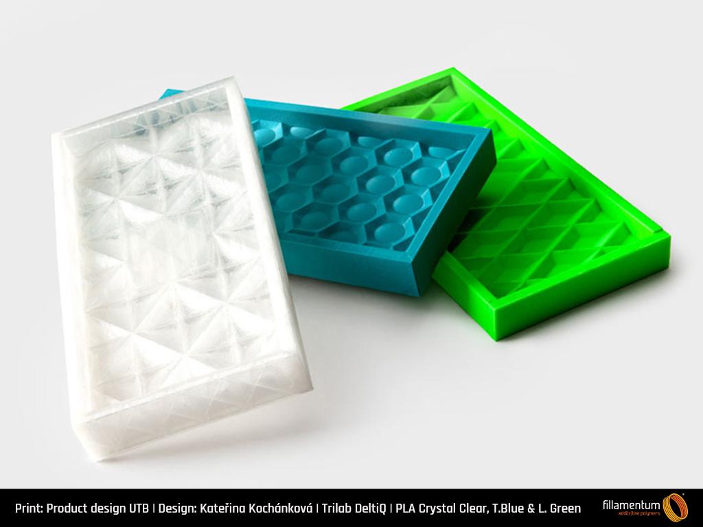 PLA filament Fillamentum Crystal Clear 1,75 mm 750 g
