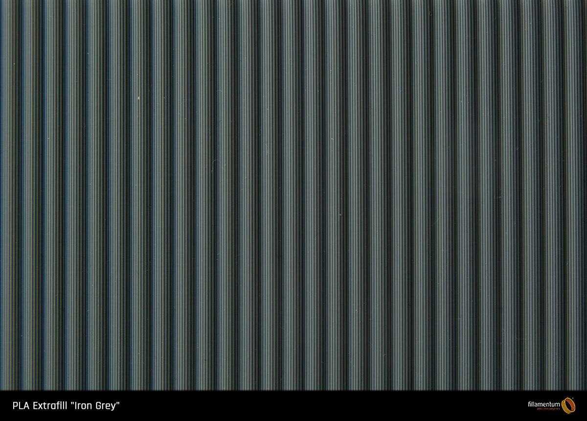 PLA filament Fillamentum Extrafill Iron Grey 1,75 mm 750 g