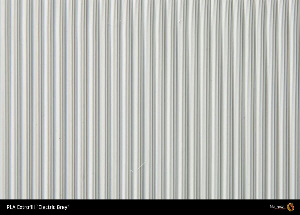PLA filament Fillamentum Extrafill Electric grey 1,75 mm 750 g