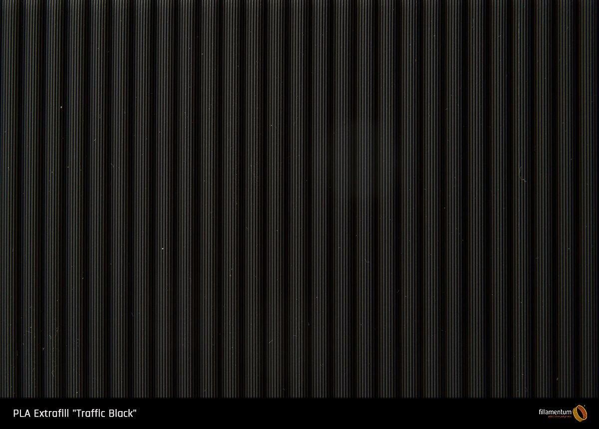 PLA filament Fillamentum Extrafill černá 1,75 mm 750 g