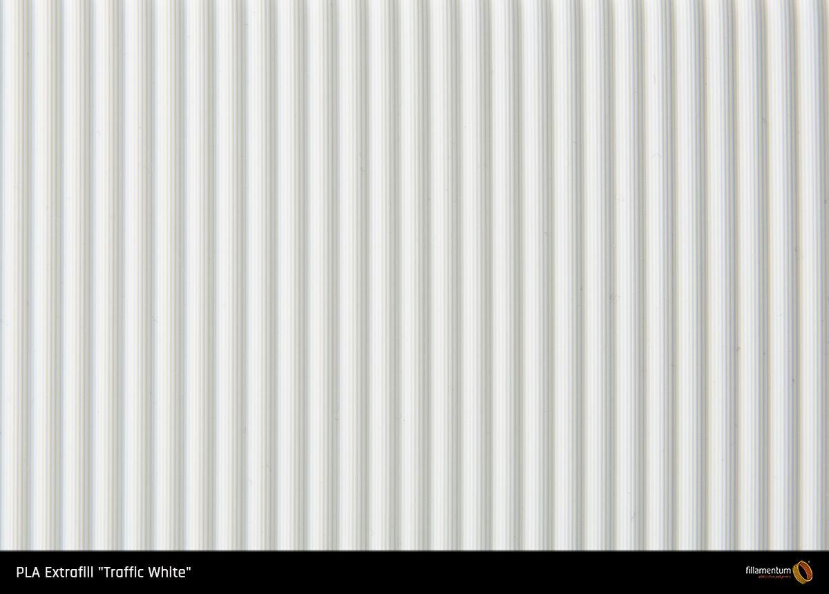 PLA filament Fillamentum Extrafill bílá 1,75 mm 750 g