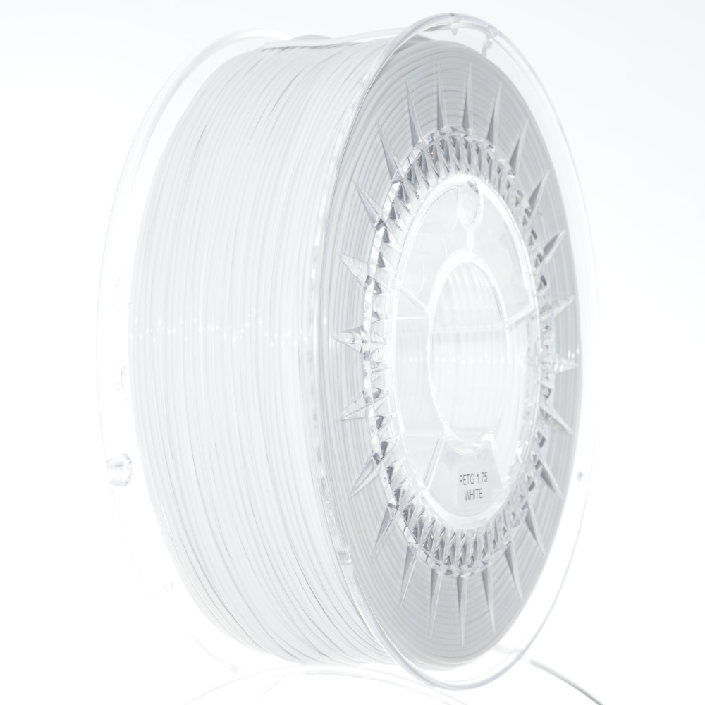 PETG filament Devil Design bílá (whitte) 1,75 mm 1 kg
