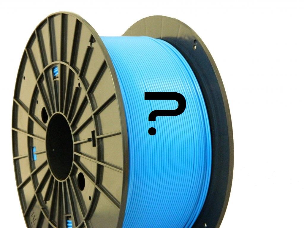 Koľko metrov filamentu je namotaných na cievke ?
