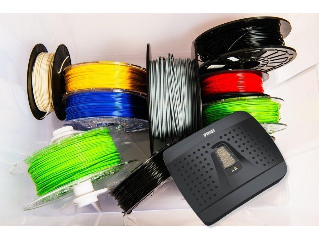 Sušenie filamentov