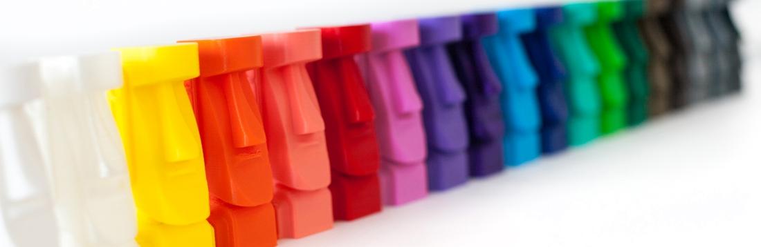 Najširšia ponuka materiálov a doplňkov pre 3D tlač