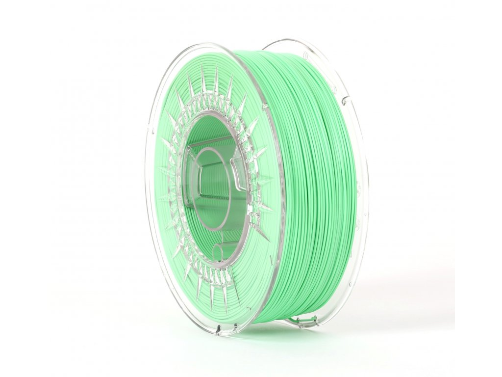 PLA filament light green 1,75 mm Print With Smile 0,5kg
