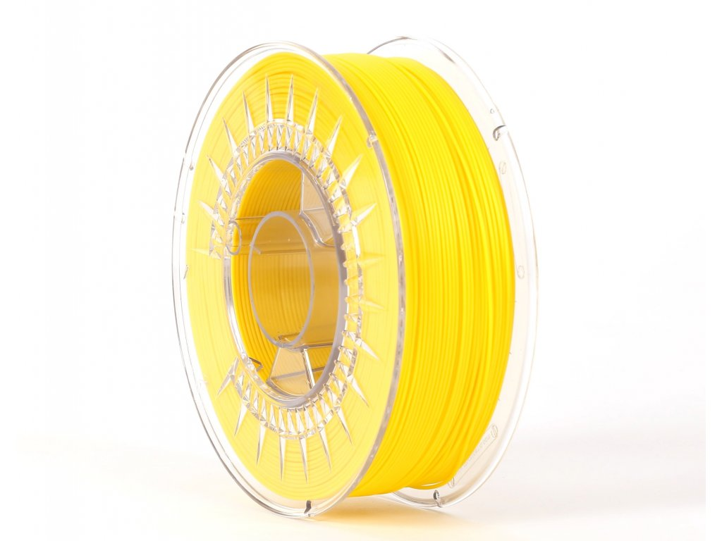 PLA filament yellow 1,75 mm Print With Smile 0,5kg