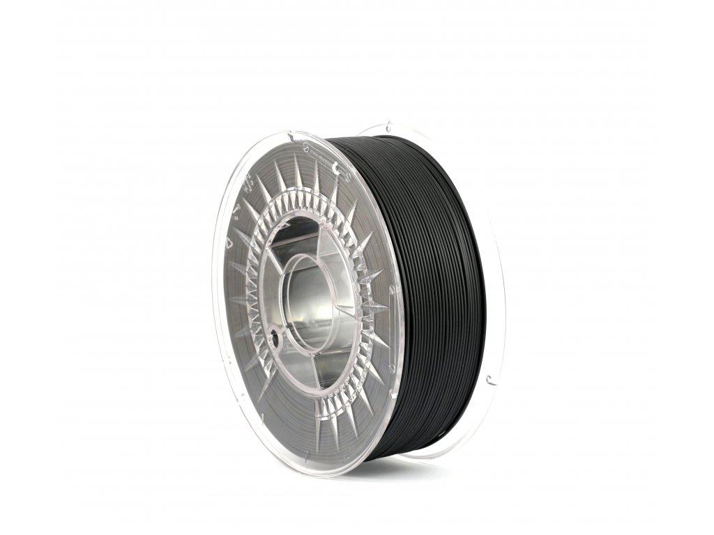 PrintWithSmile tlačová struna PLA, čierna, 1,75 mm, 0,5 kg