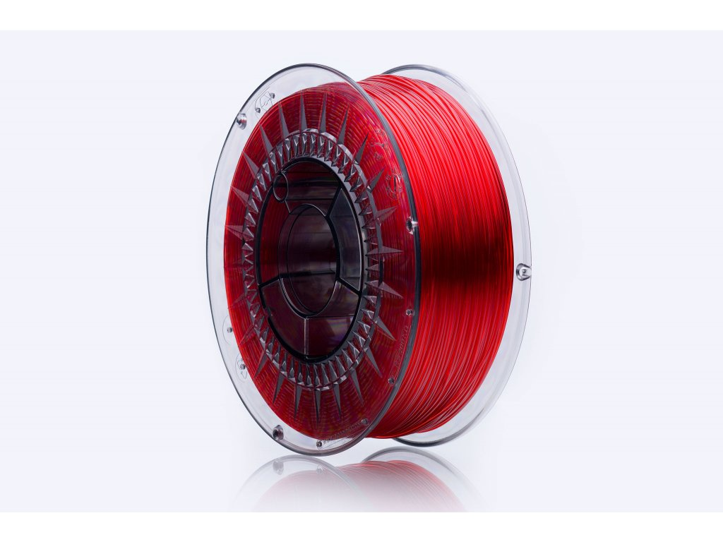 PET-G filament Rubin Red TR 1,75 mm Print With Smile 1kg
