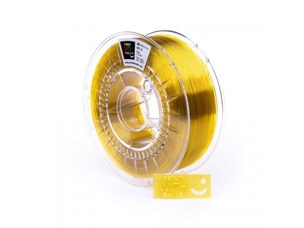 PETG yellow glass 2