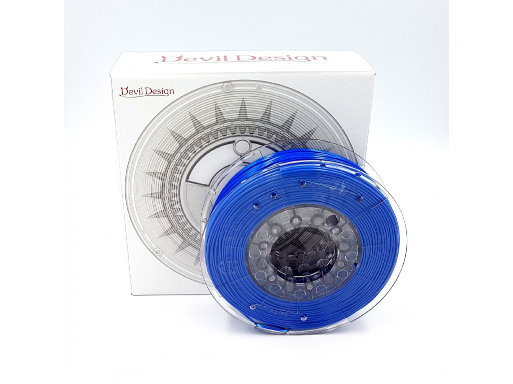 ABS+ filament 1,75 mm super modrý Devil Design 330g