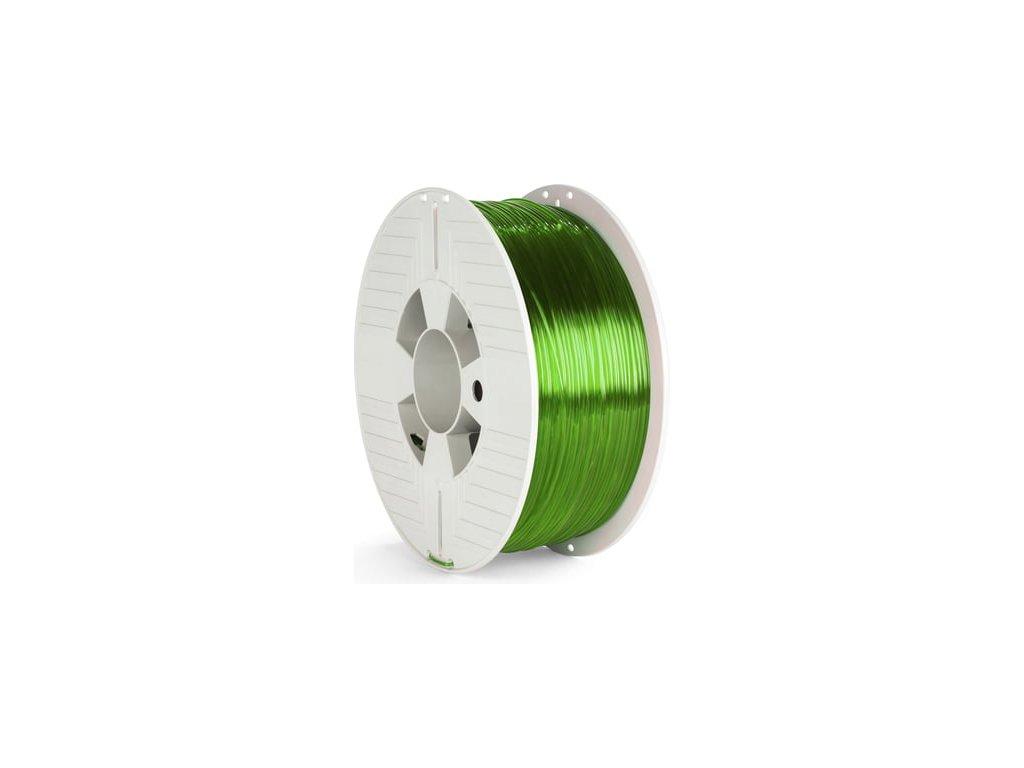 PET-G filament 1,75 mm zelený transparent Verbatim 1 kg