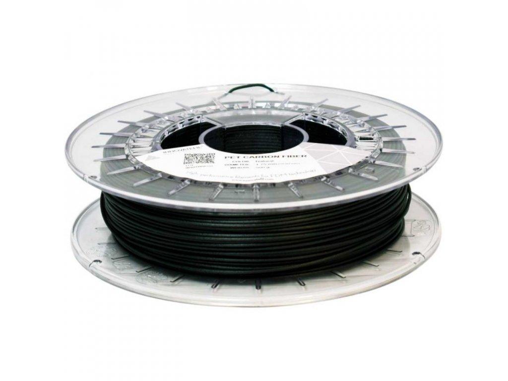 PET/CF tlačová struna 1,75mm 0,5kg čierna Innovatefil