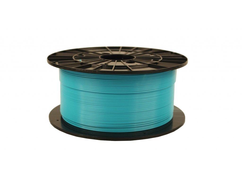 turquoise PLA Plasty Mladeč