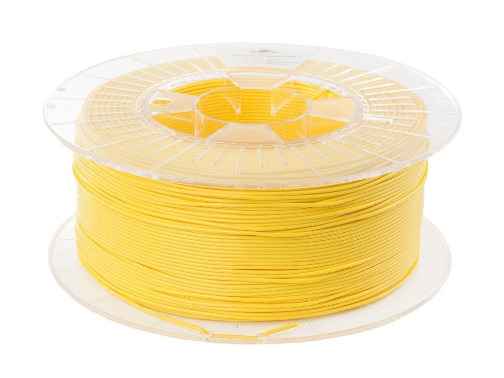 PLA Bahama Yellow filament SPectrum 1,75mm