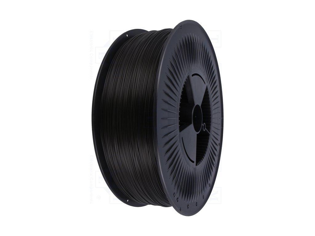 PETG 5kg filament černý - extra velké balení