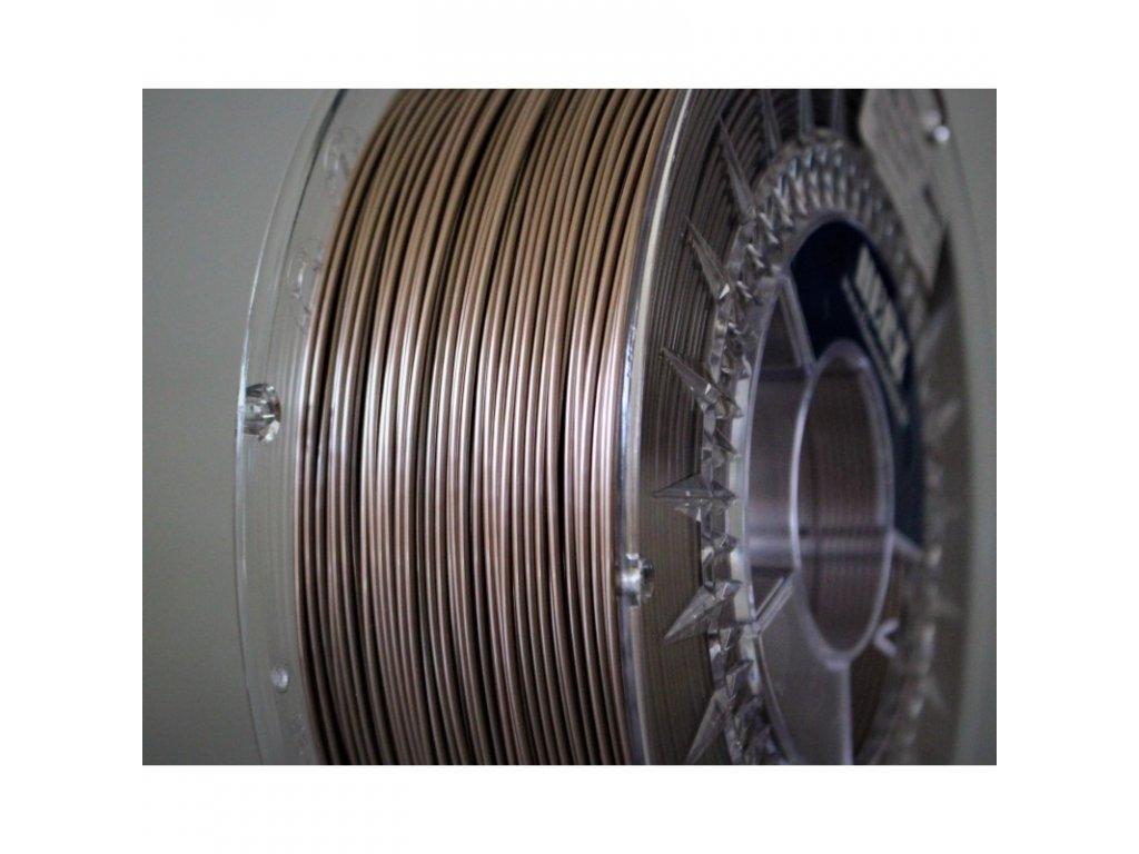 PETG herz metalic filament 175mm hnedá s perleťou