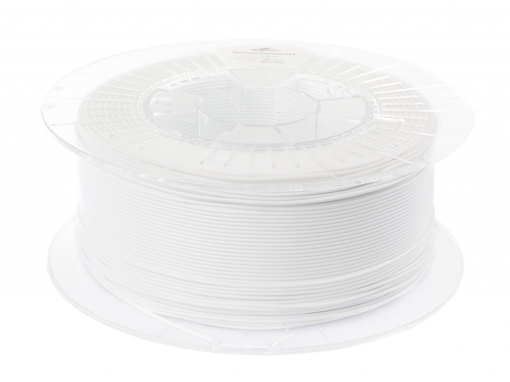 PETG tlačová struna Arctic White 1,75 mm Spectrum 1 kg