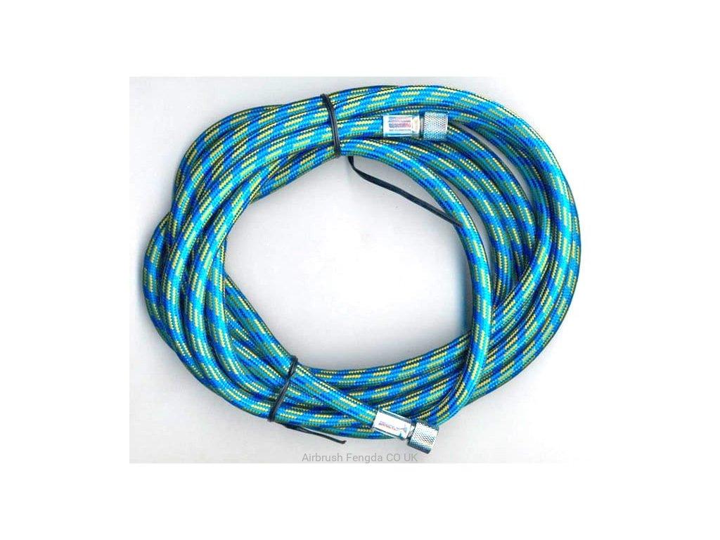 Modrá hadica Fengda BD-24 prípojné 3,0 m šroubení G1 / 8 - G1 / 8