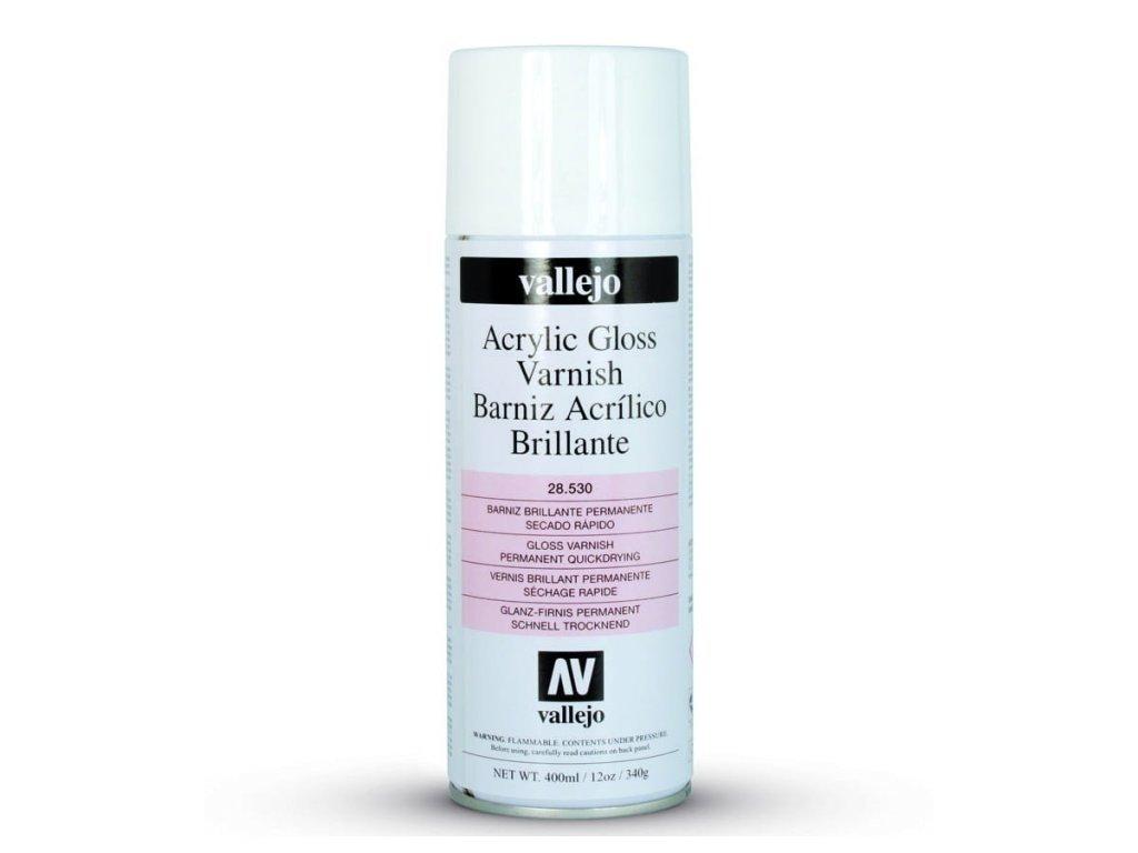 Lak v spreji Vallejo 28530 Gloss Spray Varnish (400ml)