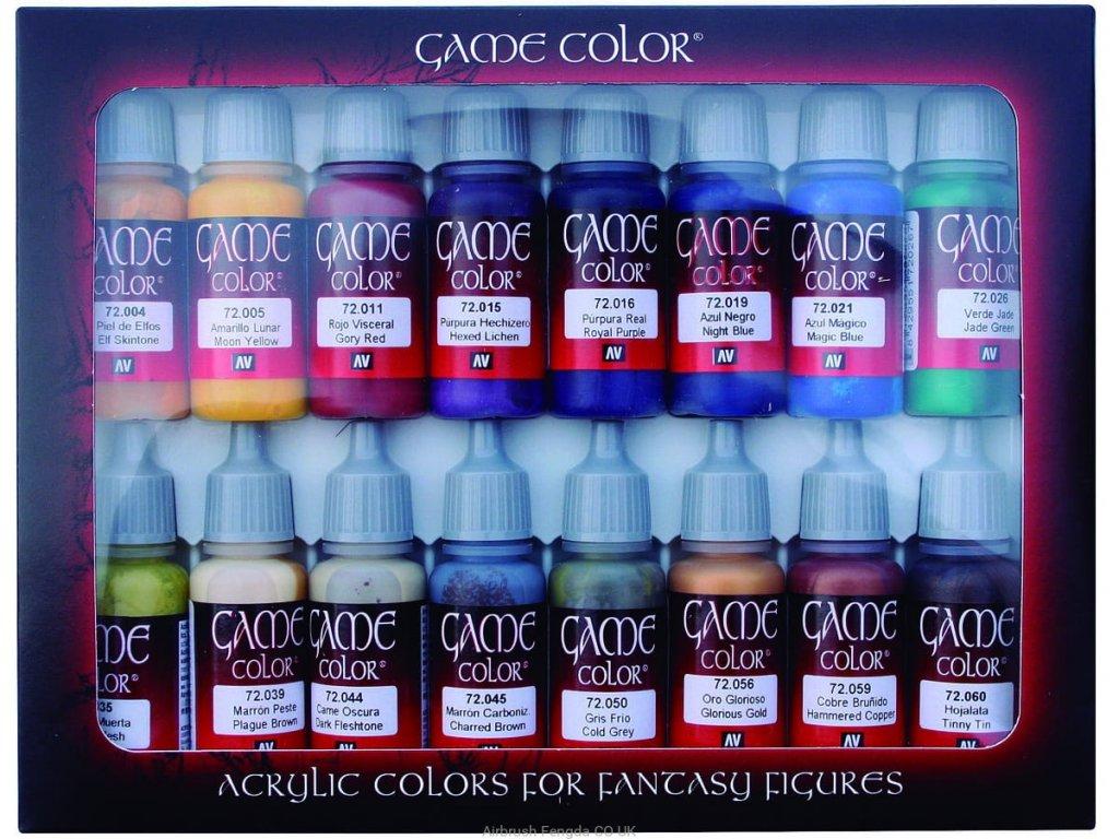 Vallejo Game Color Set 72298 Advanced (16)