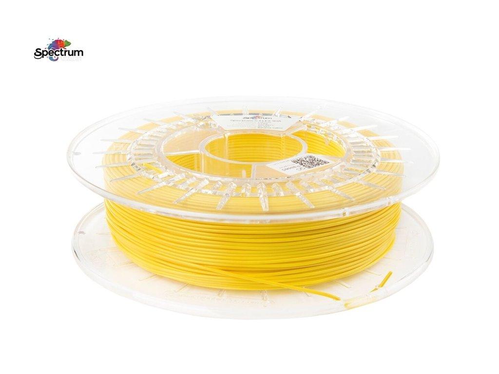 SFLEX - flexibilná tlačová struna bahamská žltá 1,75 mm Shore tvrdost 90 A 500g