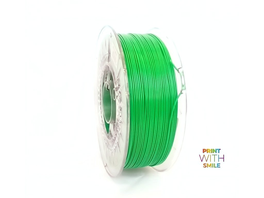 PET-G filament Green 1,75 mm Print With Smile 1kg