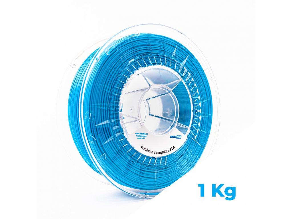 filament rPLA pastelova modra new
