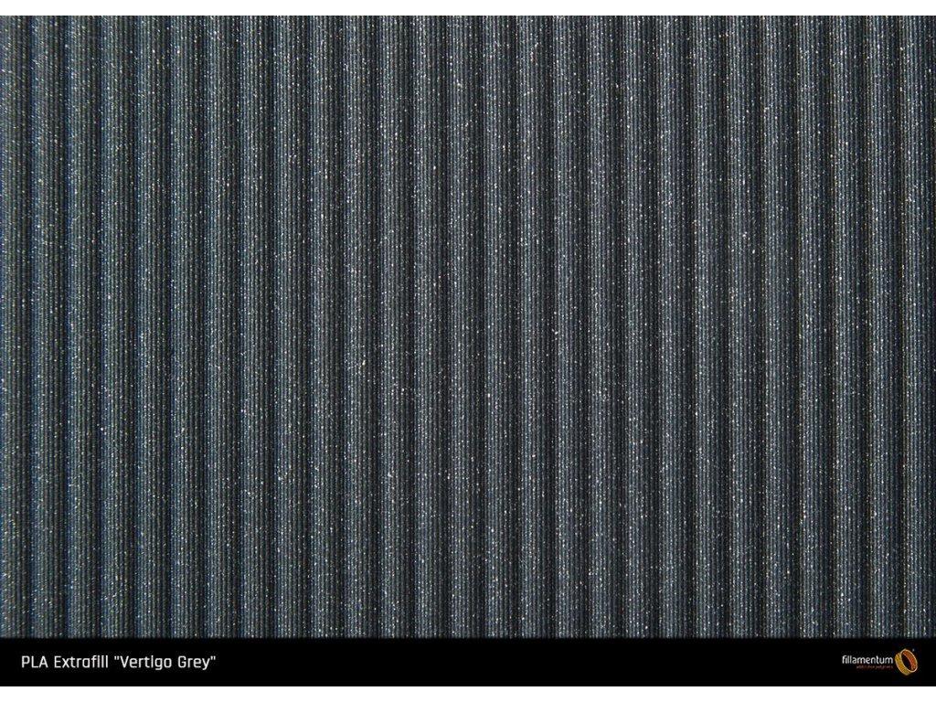 PLA filament Extrafill vertigo grey 1,75mm 2500g Fillamentum
