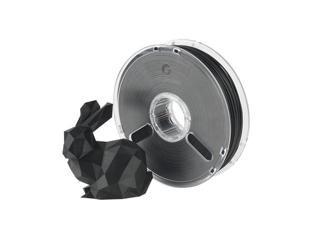 PLA PolyMax filament čierny 1,75mm Polymaker 750g