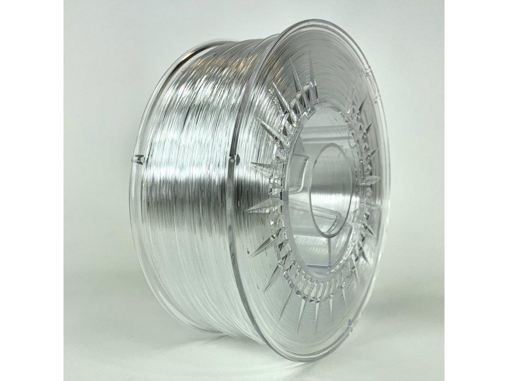 PMMA filament transparentný 1,75mm Devil Design 1 kg