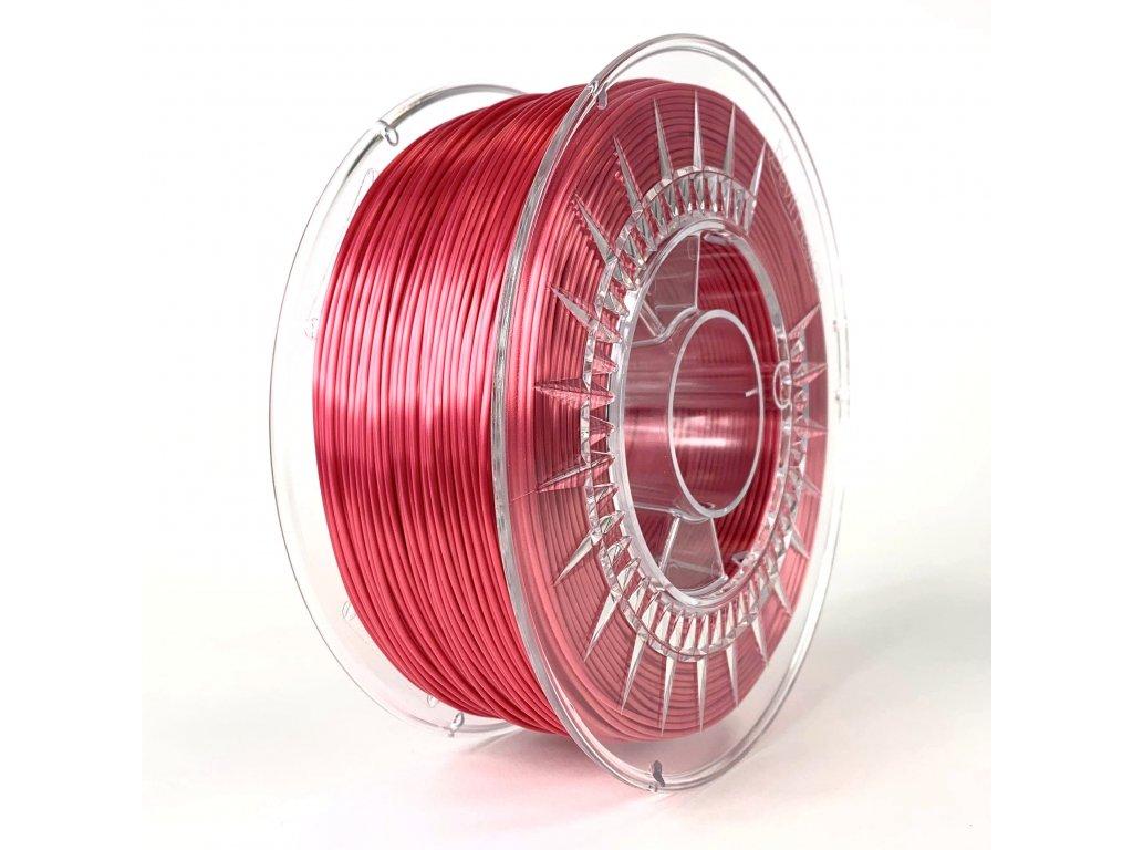 red devil design silk