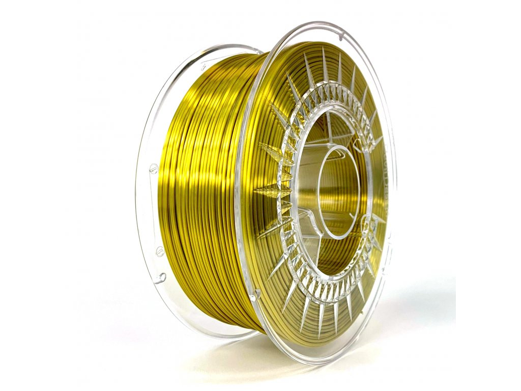 gold dd silk filament
