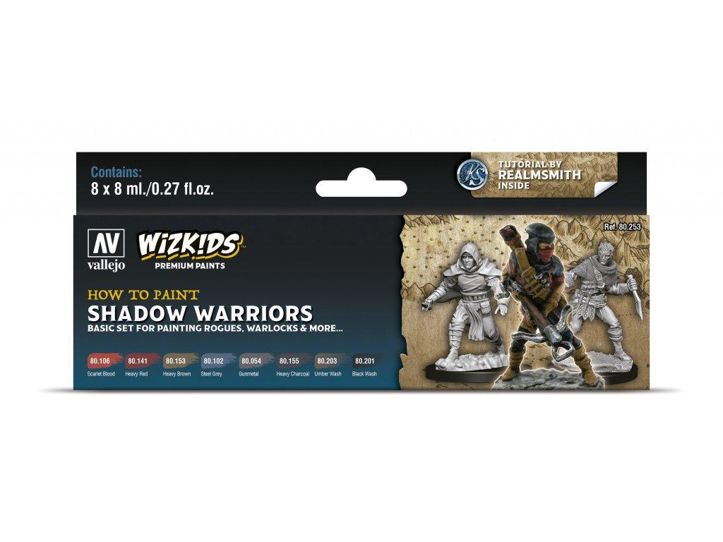 Vallejo Wizkids Premium Set 80253 Shadow Warriors (8)