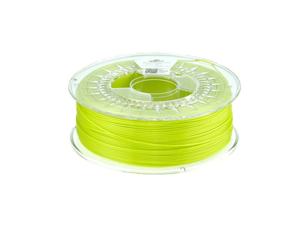 eng pl Filament PLA SILK 1 75mm Unmellow Yellow 1kg 1183 1