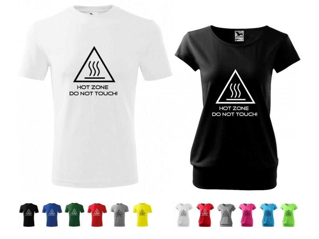 HOT ZONE tričko varianty