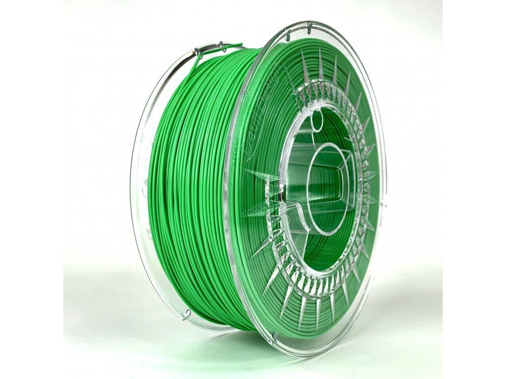 PET-G filament 1,75 mm svetle zelený Devil Design 1 kg