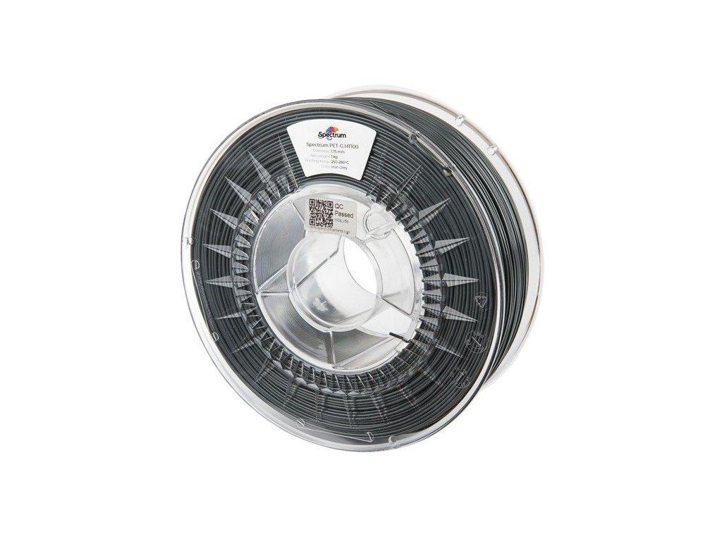 PETG HT100 filament Iron Grey 1,75 mm Spectrum 0,5 kg