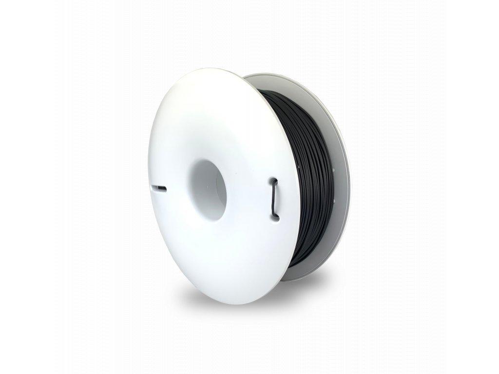 PLA FIBERSILK filament antracitovo sivý metalický 1,75mm Fiberlogy 850g
