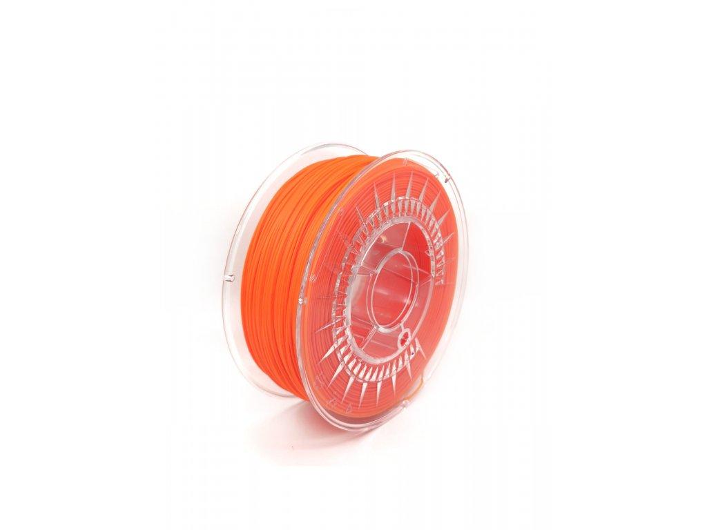 PLA filament z recyklátu 1,75 mm oranžový  EKO-MB 1 kg