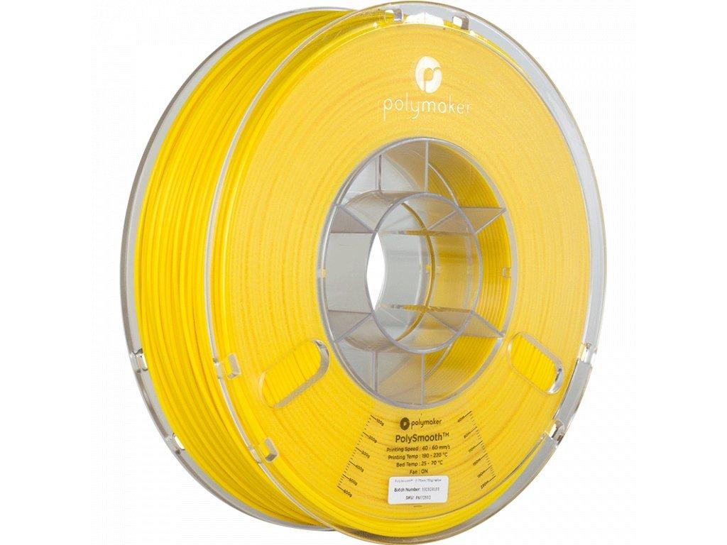 PolySmooth filament žltý 1,75mm Polymaker 750g