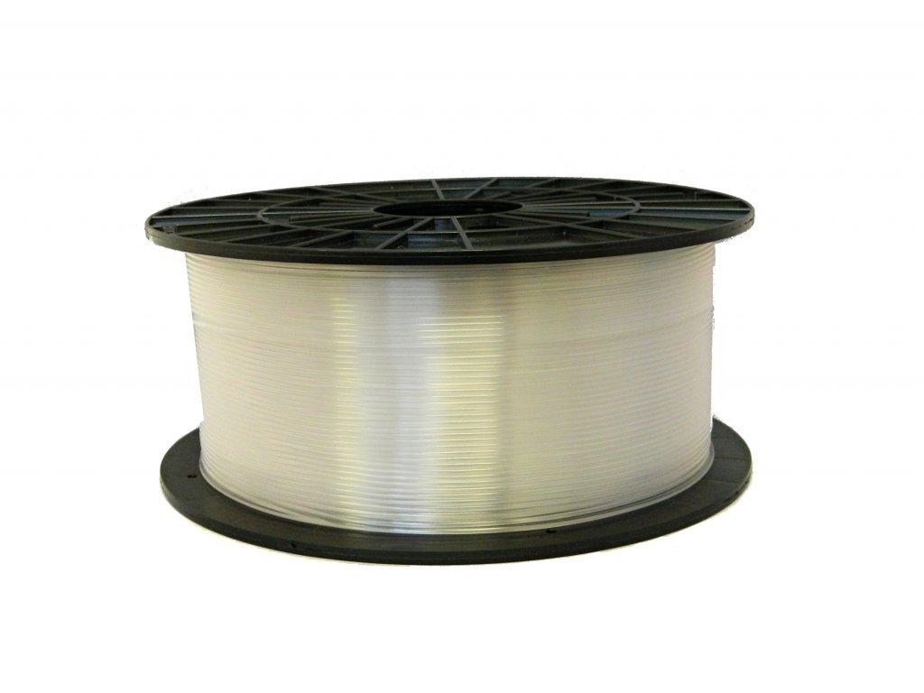 Tlačová struna ABS-T, Plasty Mladeč, 1,75 mm transparent, 1 kg